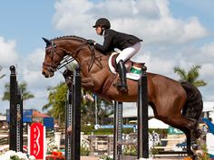ahorsecalledtimber: Brianne Goutal and Nice de Prissey, WEF 2014. Source: Lexey Hall