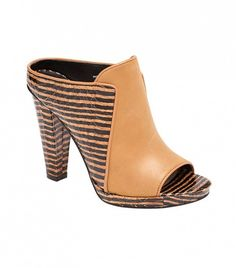 @Who What Wear - 10 Crosby Derek Lam Mule ($375)  We love the print and hefty heel of this style.