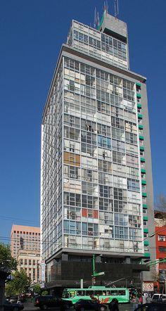 Edificio Miguel E Abed, Eje Central Lázaro Cárdenas 13,Centro, Cuauhtémoc, México, DF 1952    Arq. Carlos Reygadas