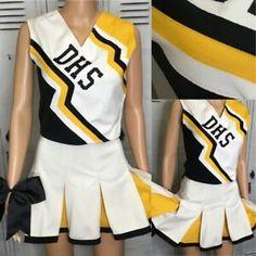 Cheerleading Uniforms, Sports, Tops, Fashion, Hs Sports, Moda, Fashion Styles, Sport, Fashion Illustrations