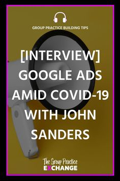 In this episode, I'm talking with John Sanders all about digital marketing amidst this episode we cover: Digital Marketing Channels, Group Counseling, Google Ads, Business Planning, Self Help, Private Practice, Online Marketing, Leadership
