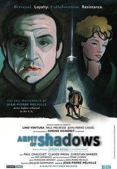 L'Armée des Ombres (Jean-Pierre Melville, 1969) - US Re-release poster