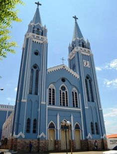 Igreja Matriz de Picos - Piaui - Brasil