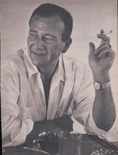 Duke had the habit of smoking six packs a day of cigarettes.