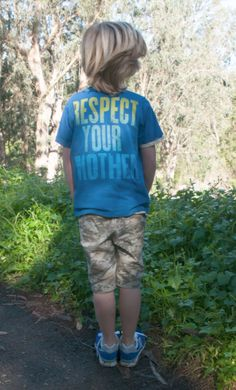 Celebrate Earth Day with our Respect Your Mother Tee #kids #kidsclothes #earthday