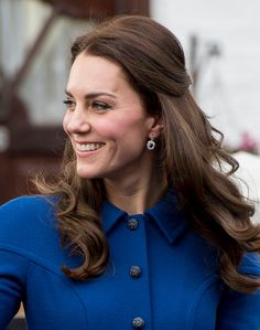 Catherine Duchess of Cambridge leaves after a visit to the Anna Freud Centre on January 11 2017 in London England