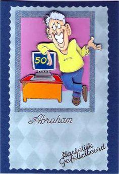 Plaatjes fotos prentjes knippen knipsels Abraham Sarah 50jaar foto's fotos leuke gefeliciteerd prentjes kaarten tekeningen