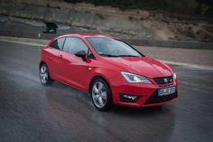 Doch mit etwas Geschick war der #SEAT #Ibiza CUPRA zu bändigen.   -- SEAT Ibiza CUPRA: kombiniert: 5,9 l/100 km; CO2-Emission, kombiniert: 139 g/km; CO2-Effizienzklasse D*