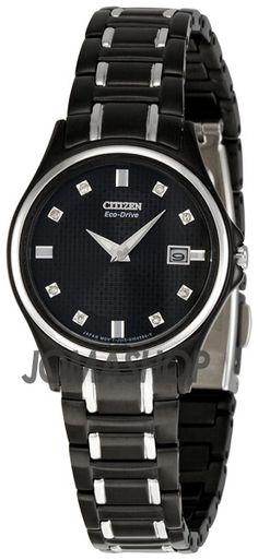 Citizen Eco Drive Diamond Ladies Watch GA1034-57G