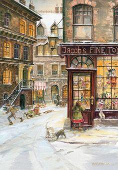 Christmas Dreams / Toy Shop Advent Calendar
