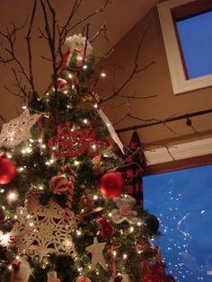 twig topper for Christmas tree, Sugar Pie Farmhouse