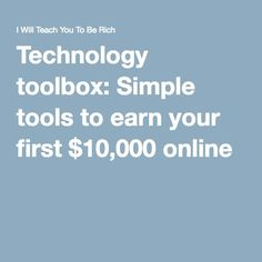GrowthLab's Ultimate Guide to Starting an Online Business Online Sales, Selling Online, Business Tips, Online Business, Toolbox, Starting A Business, Ecommerce, How To Make Money, Technology