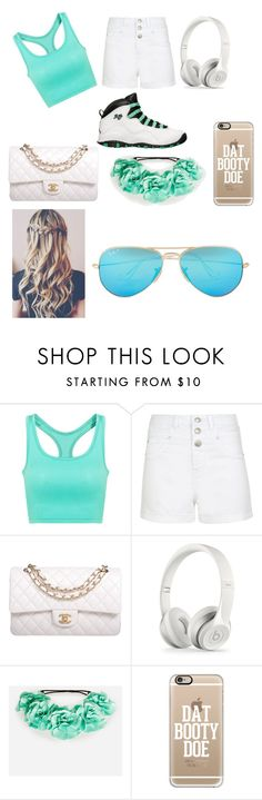 """""""Rayanna got swag @rayanna0927"""" by mynameisyaya ❤ liked on Polyvore featuring Retrò, Chanel, DailyLook, Casetify, Ray-Ban, women's clothing, women, female, woman and misses"""