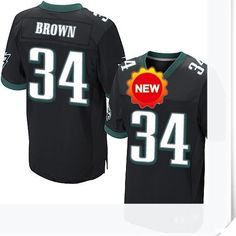 $66.00--34 Bryce Brown Jersey - Nike Stitched Alternate Philadelphia Eagles  Jersey,Free Shipping! Buy it now:http://is.gd/PkHrIj