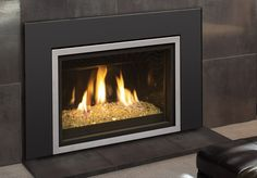 Real Fyre 30'' iSeries Contemporary Direct Vent Fireplace Insert