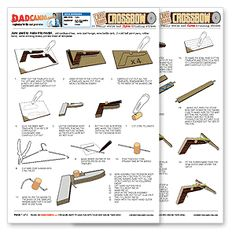 Mini crossbow free plans Although commercial versions are available at ...