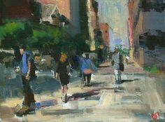 Walking Home on Ninth Avenue