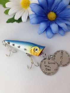 1000 images about father 39 s day wedding and birthday for Funny fishing lures