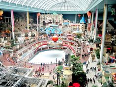 South Korea (Lotte World; Largest indoor theme park in the world!)
