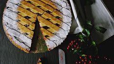 Jablkový koláč ze špaldové mouky