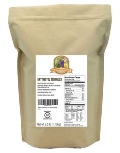 Anthony's Erythritol Granules (Crystalline), Certified Gluten-Free