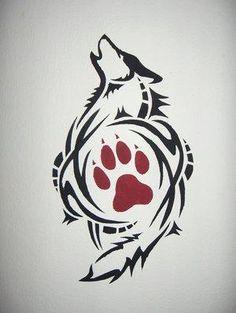 lone wolf martail arts logo