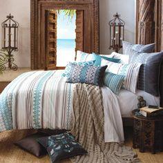 Danya Teal | Quilt Cover Sets | Bedroom