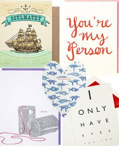 Cute and clever #Valentines for your loved ones