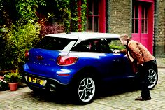 MINI Paceman delivers the goods, courtesy of The MINI International.