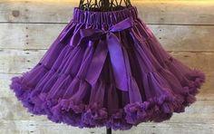 Purple Pettiskirt