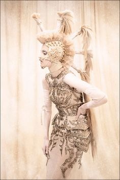 Amato Haute Couture I Am The Queen photo series. Amato Haute Couture gowns shot by Tina Patni