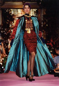 Christian Lacroix Haute Couture Fall-Winter 1989   Flickr - Photo Sharing!