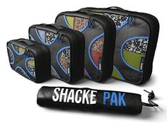 Shacke Pak - 4 Set Packing Cubes - Travel