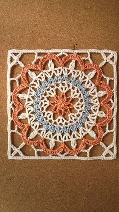 Crochet motif - so pretty