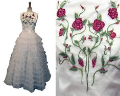 Costume Embroidery  Illustration by Michele Carragher for Film  TV - Misc Embroidery Gallery