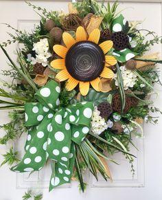 278 Best Spring Summer Wreaths Images Summer Wreath Grapevine