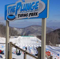 Wintergreen  Resort Best tubing ever!!  Good ski school too. Wintergreen, VA