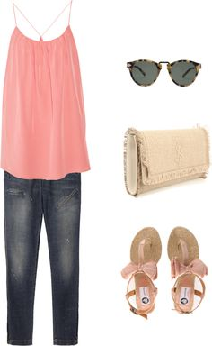 """""""A summer song"""" by ingenuousness ❤ liked on Polyvore"""