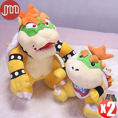Find More Movies & TV Information about New 2 PCS Super Mario King Bowser Koopalings Jr. Koopa Sanei Soft Plush Animal Doll Dragon Toys Anime Kids Gift Baby Brinquedos,High Quality doll list,China doll gift Suppliers, Cheap doll from M&J Toys Global Trading Co.,Ltd on Aliexpress.com