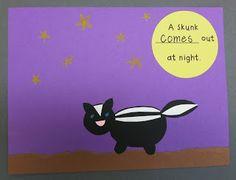 Kinder Learning Garden Blog: Nocturnal Animals Theme Book