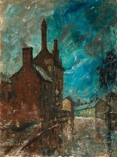 Herbert Wright - Back of Old Priory, Walsall (1968)