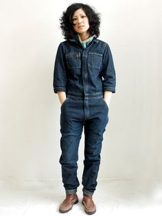 Inexplicable my love for overalls of all kinds. A well traveled woman