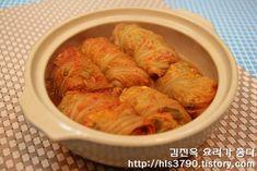 김진옥 요리가 좋다 :: 만두피가 필요없어 손쉽게 만들수 있는 굴림만두 *^^*