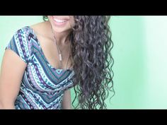 The Curly Girl Method (Curly Penny) - YouTube