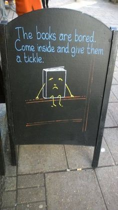 Would love to see this outside a cafe in real life!