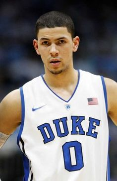 Austin Rivers #0 of the Duke Blue Devils. I would have liked to see him play for the Devils in the 2012-2013 season... Bleu Devils would have been undefeated with him, Kelly, and Plumlee