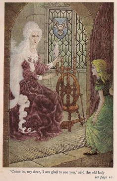 The Princess and the Goblin by George MacDonald, illustrated by Charles Folkard