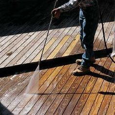 Repairing/Maintaining an old deck