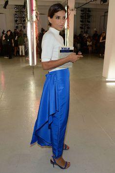 f0bc8bb27a The Best-Dressed Royal at New York Fashion Week Was...Princess Deena!
