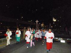Procesión con la Imagen de Sn. Judas Tadeo, apóstol.